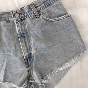 Urban Renewal Recycled Levi's Shorts